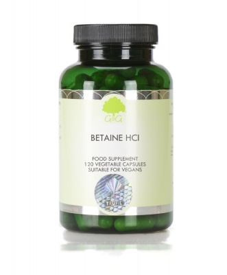 Betaine HCl - 120 Capsules