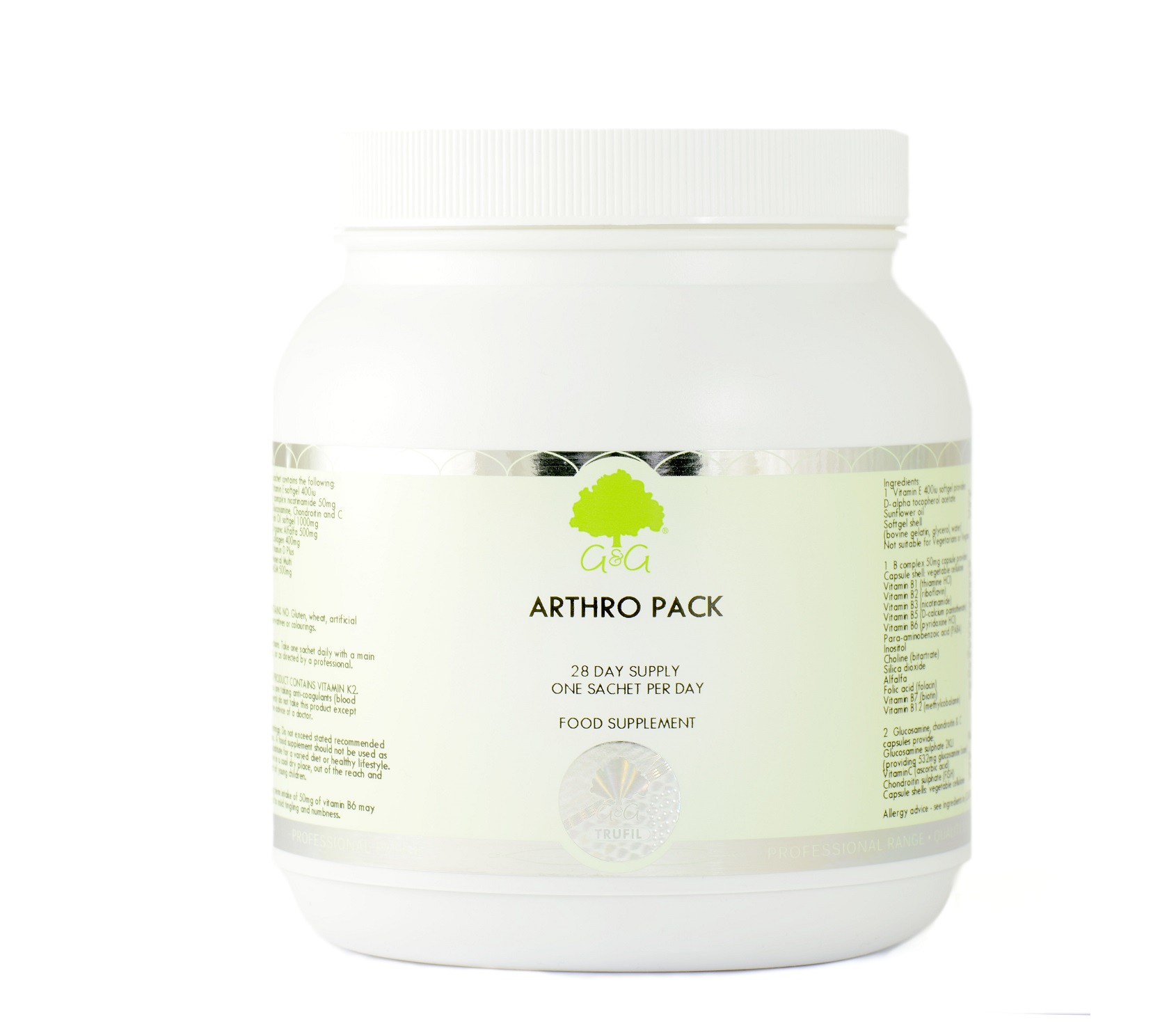 28 Day Arthro Supplement Pack