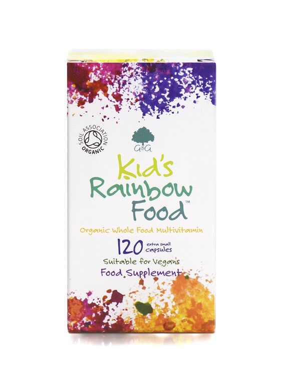 Kids Rainbow Food - 120 Children's Capsules