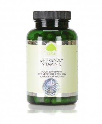 pH Friendly Vitamin C - 120 Capsules